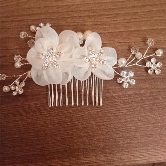 Accessories small silk flower bridal prom hair comb bridesmaid m5b42e98f8ad2f9e6736b8b9f mightylinksfo